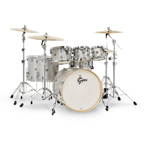Gretsch Catalina Maple 7-piece Set - Silver Sparkle